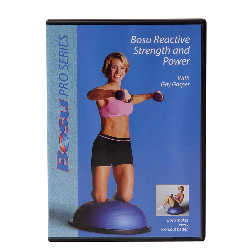 Bosu Reactive Strength and Power DVD with Gay Gasper - PTconnect