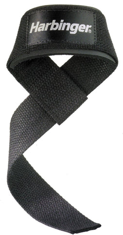 "Harbinger Padded Cotton Lifting Straps 21"" - PTdunrite - 1"