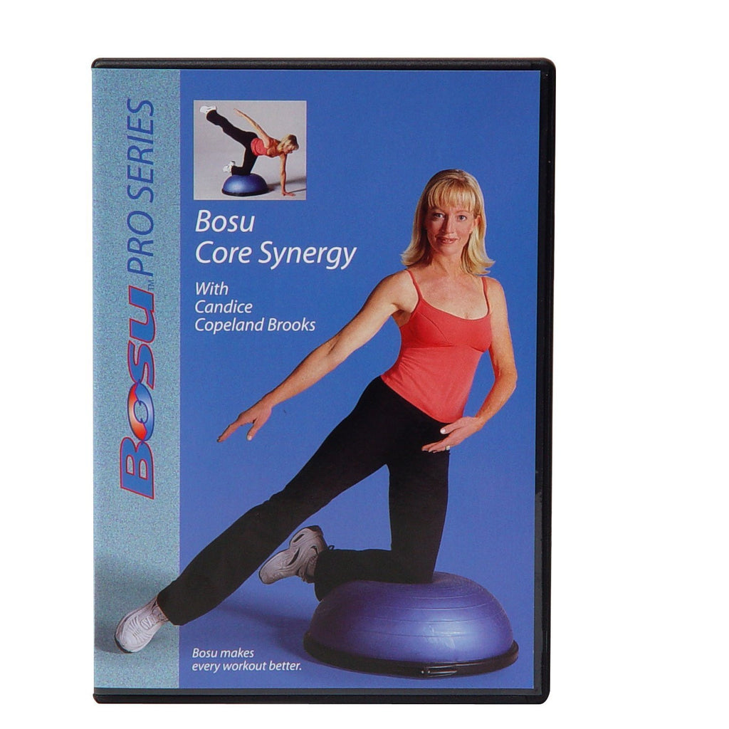 Bosu Core Synergy DVD with Candice Copeland Brooks - PTconnect
