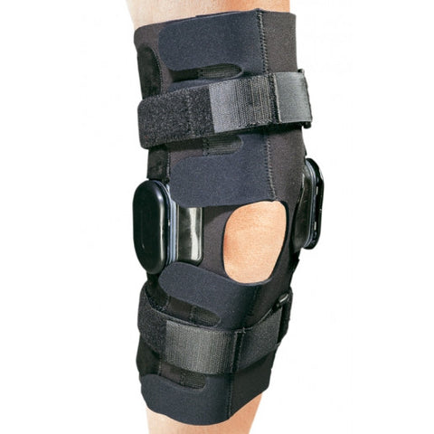 ProCare Action Hinged Knee Immobilizer - Large Hook and Loop Closure