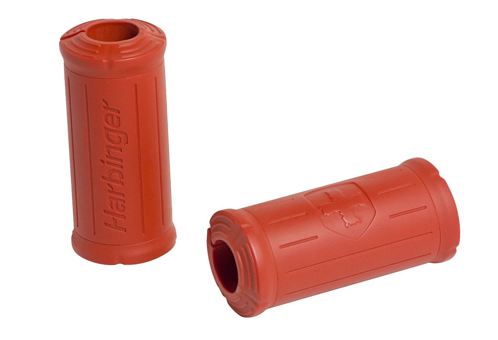 Harbinger Big Grip Bar Grips - Red - PTdunrite - 1