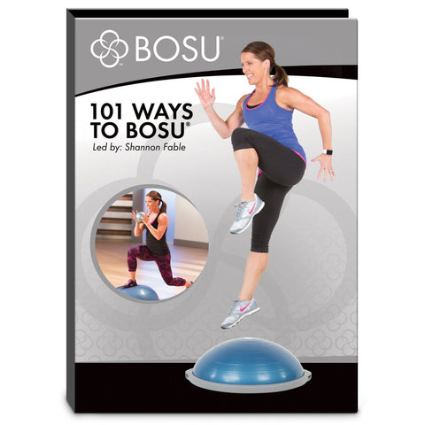 Bosu 101 Ways Exercise Tutorial DVD - PTdunrite
