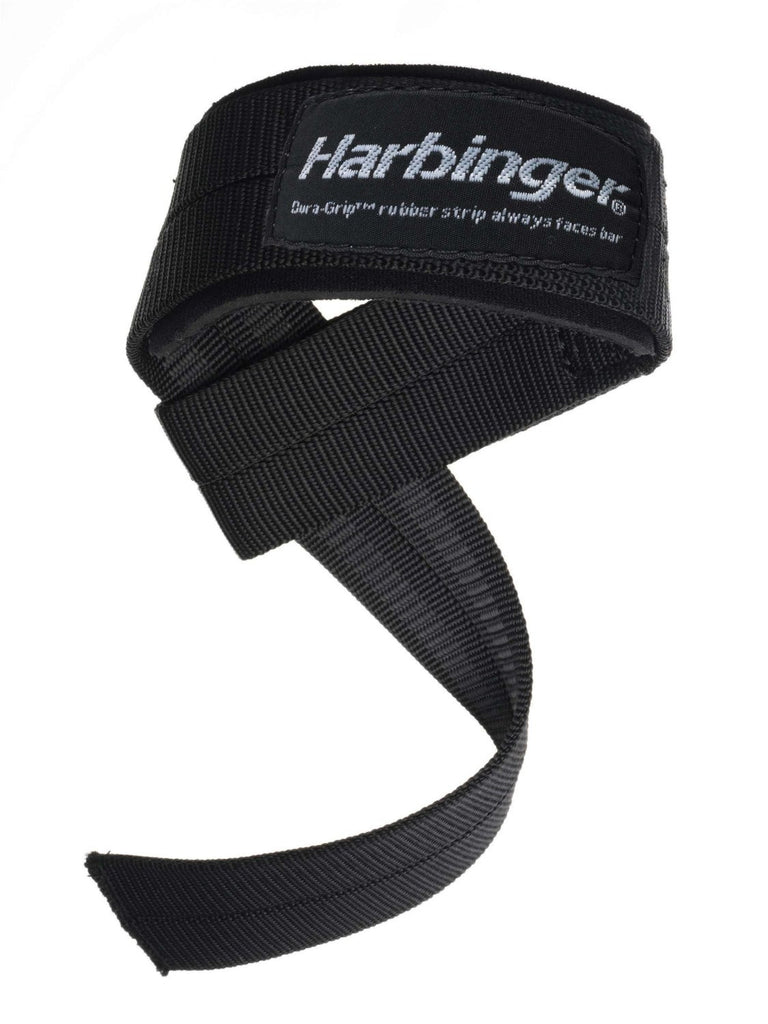 Harbinger Big Grip Padded Lifting Straps-Black - PTdunrite