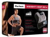 Perfect Fitness Weight Vest - 20 lbs - PTdunrite - 2