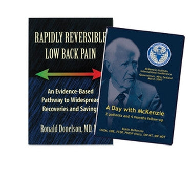 A Day with McKenzie DVD & Rapidly Reversible Low Back Pain Package - PTconnect