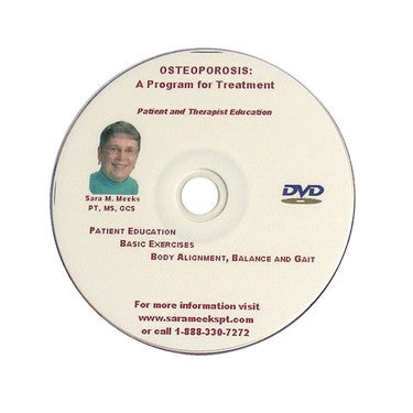 Osteoporosis: A Program for Treatment DVD - PTdunrite