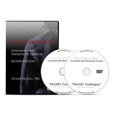 The Ultimate Back: Assessment and Therapeutic Exercise DVD - PTdunrite