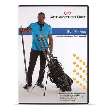 ActivMotion Bar® Golf Fitness DVD - PTdunrite