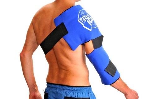 Pro Ice Cold Therapy Shoulder/Elbow Cold Wraps - PTdunrite - 1