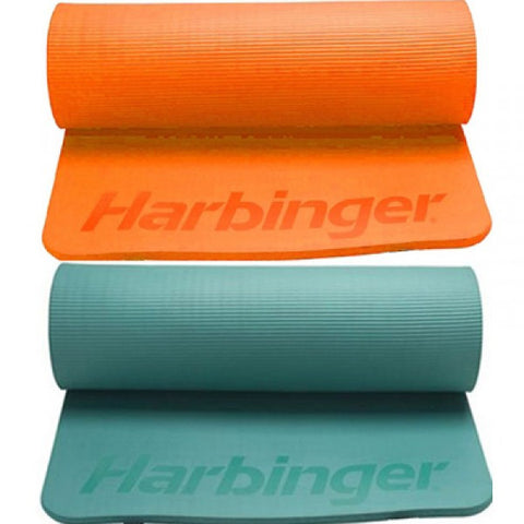 Harbinger Rolled Ribbed Durafoam Exercise Mats - PTdunrite - 1