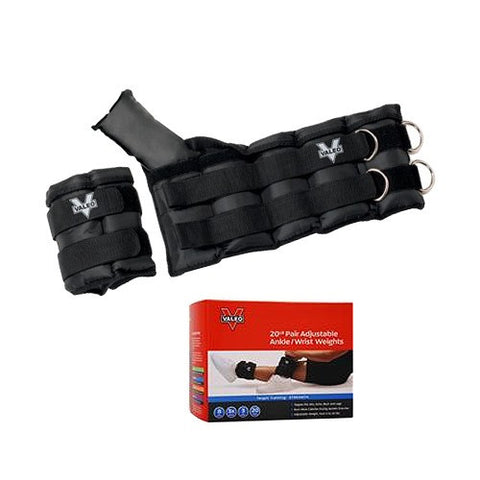 Valeo Adjustable Ankle & Wrist Weights - PTdunrite - 1