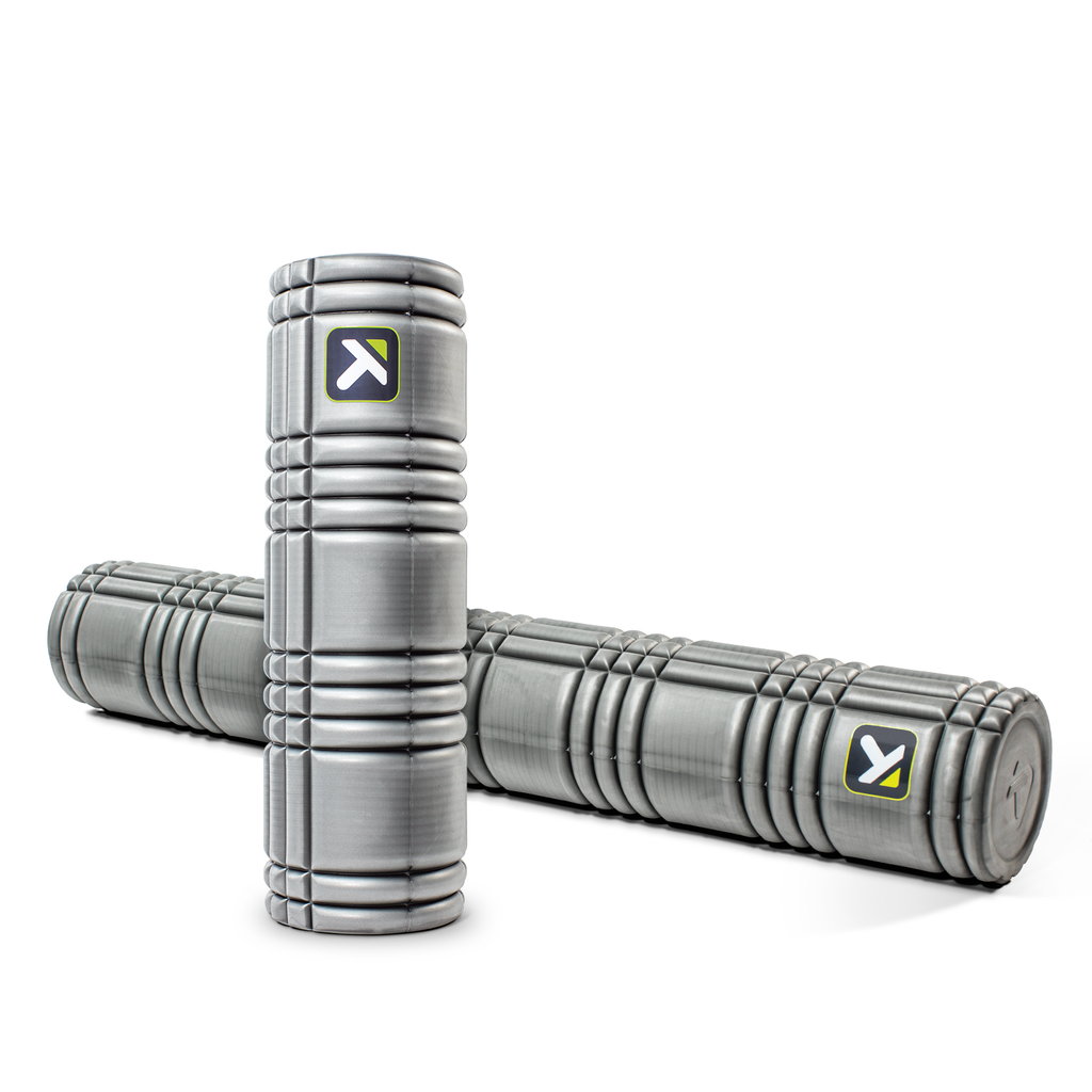 The Grid TP Solid Core Grey Foam Rollers - PTdunrite - 1
