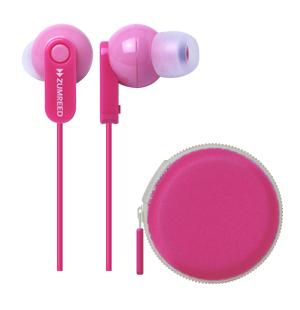 Zumreed ZHP-017P Canty Colorful Stereo Earphones with Pouch - PTdunrite - 6