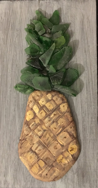 2018 Pineapple on Salvage Wood