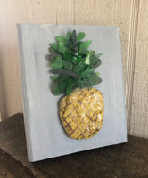 Pineapple on Salvage Wood