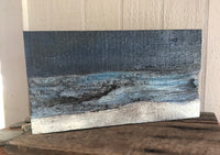 Landscape on Salvaged Wood