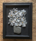 2018 Glass Daisies in Vintage Frame