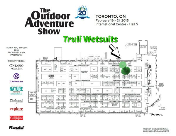 Outdoor Adventure Show - Toronto - Floor Plan