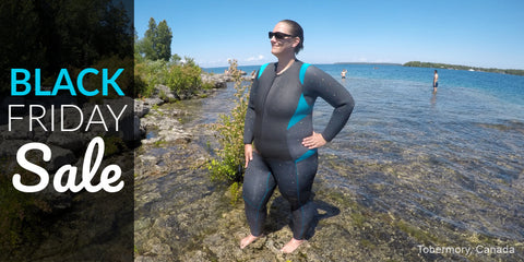 Black Friday Sale plus size wetsuits