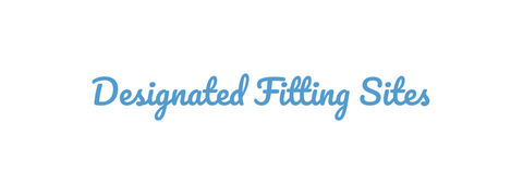Designated Fitting Sites title