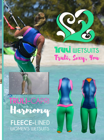 Truli Wetsuits ad in IKSurfMag