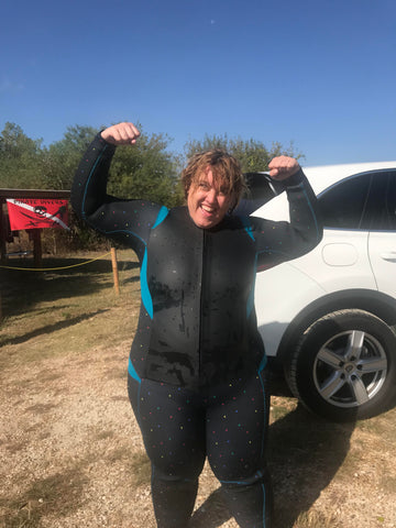 Truli Wetsuits offers plus size wetsuits