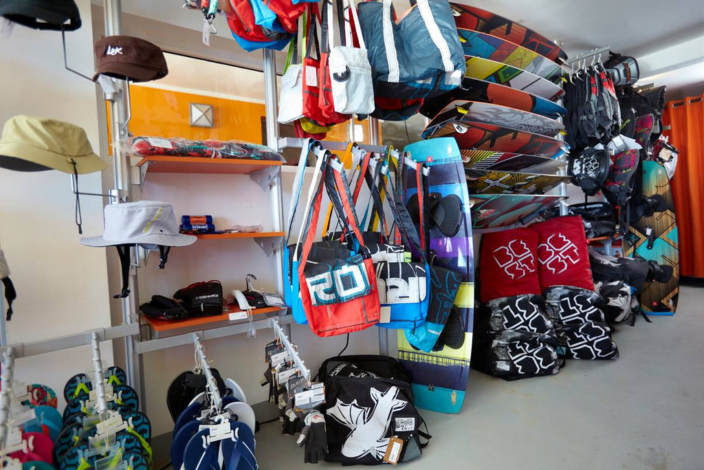 Laurel Eastman Kiteboarding retail shop