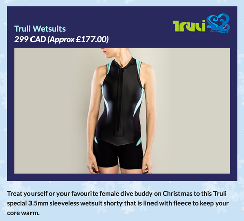 Truli Wetsuits is an Amazing Christmas Deal from ScubaVerse.com