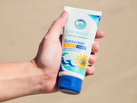 Stream2Sea eco-friendly sunscreen