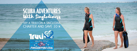 Truli Wetsuits and Single Divers partnership