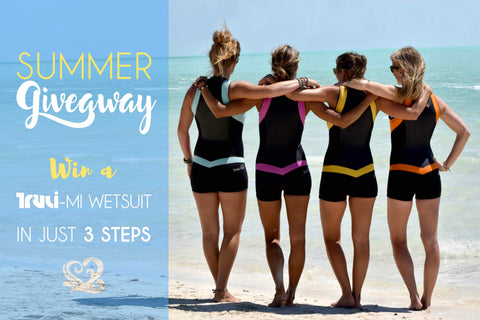 Truli Wetsuits for women summer giveaway contest