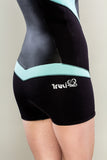 Sexy women's wetsuit shorty booty cut by Truli Wetsuits