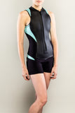Sexy women's wetsuit shorty front stylish by Truli Wetsuits