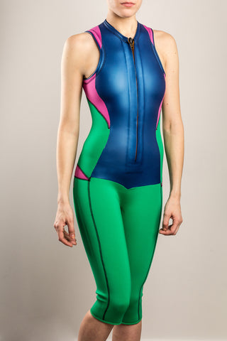 Womens-Wetsuit-Capri-Front-NotBlack-TruliWetsuits