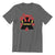 Black Meeple Board Game T-Shirt Flat Men's