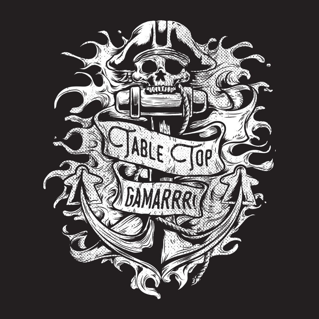 Meeple Anchor Table Top Gamarrr T-Shirt