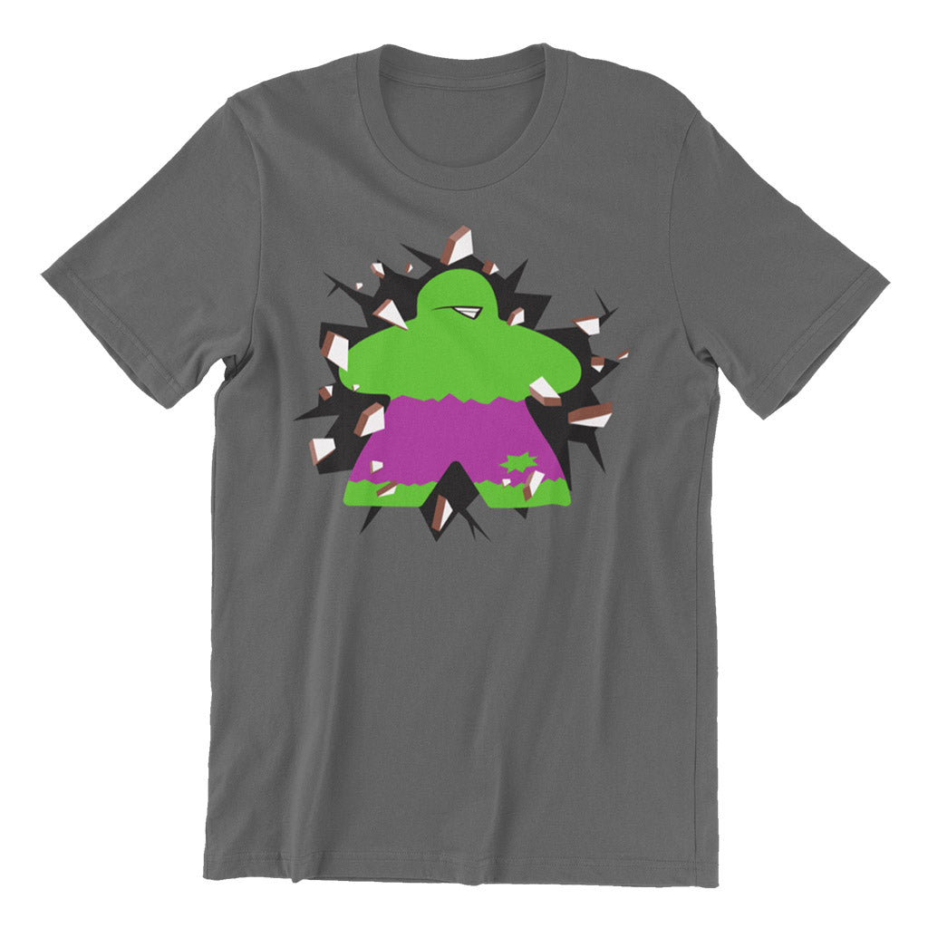 Meeple SMASH! Board Game T-Shirt