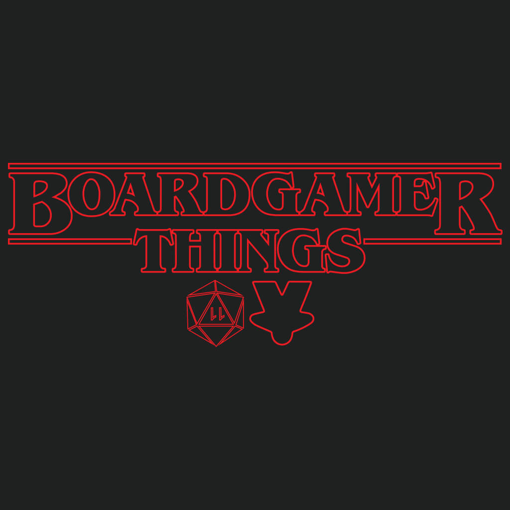 Board Gamer Things T-Shirt Close Up