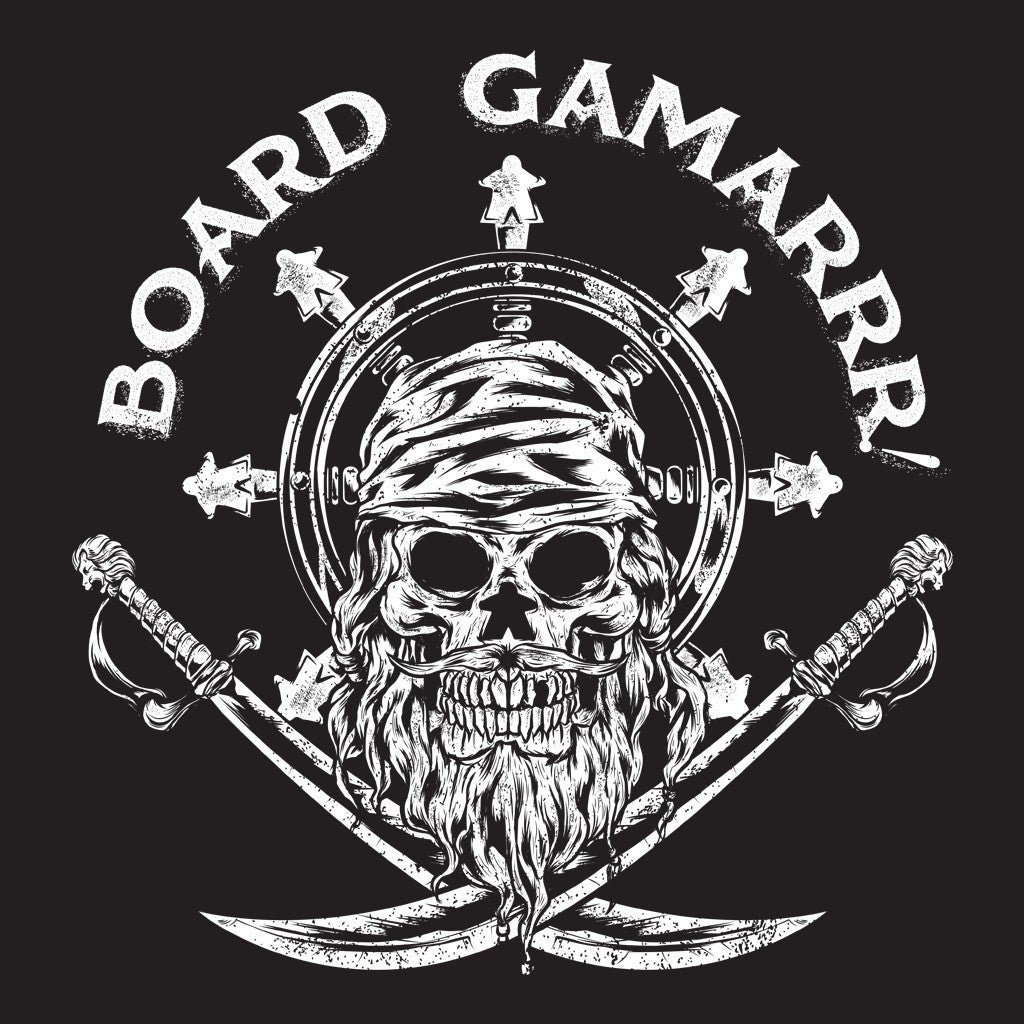 Board Game - Captain Meeple - Pirate tee