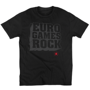 Euro Games Rock - Meeple Board Game t shirt unisex