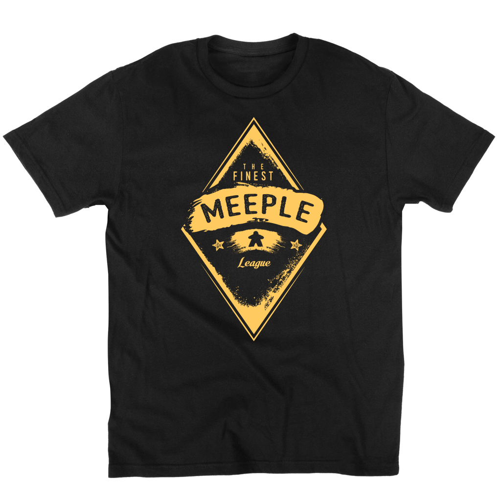 Finest Meeple League - Board Game t shirt unisex