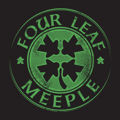Four Leaf Meeple - Board Game T shirt design