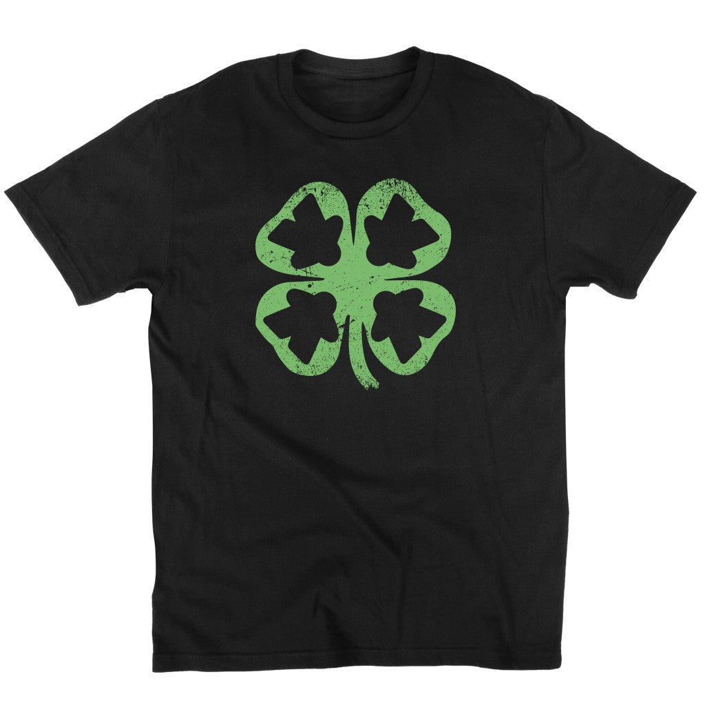 Meeple Leaf Clover - Meeple Shirts  - 2