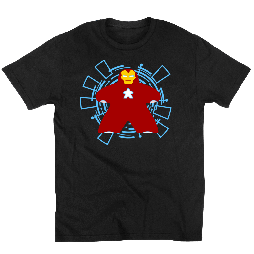 Iron Meeple Board Game T--Shirt