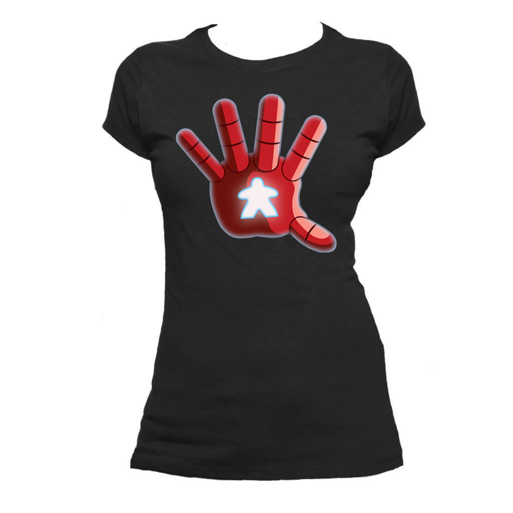 Iron Meeple Repulsor Board Game T-Shirt