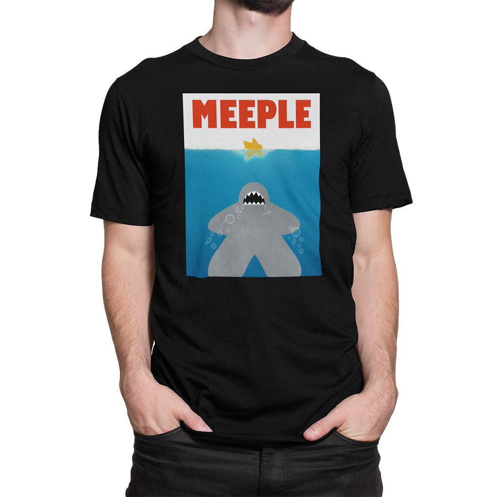 Meeple Shark Attack T-Shirt