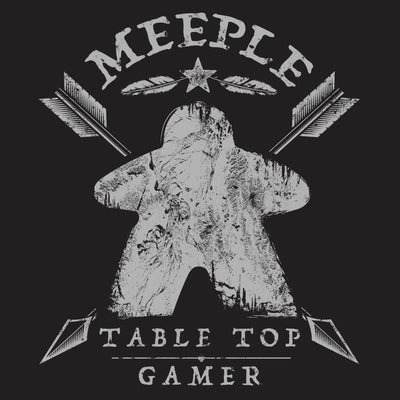 Meeple Table Top Gamer - Meeple Shirts  - 1