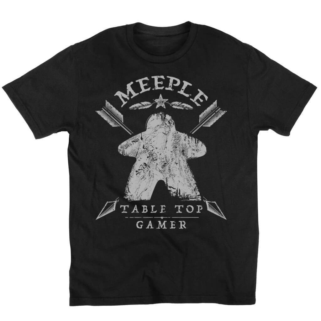 Meeple Table Top Gamer - Meeple Shirts  - 2