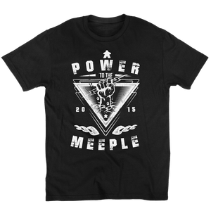 Power To The Meeple - Meeple Shirts  - 2