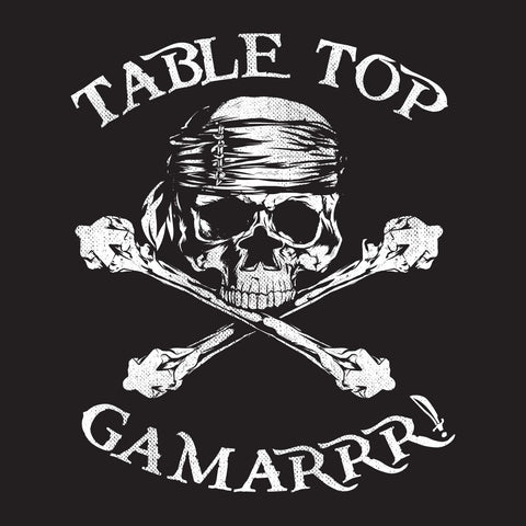 Meeple Crossbones Table Top Gamarrr!